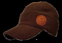 Кепка-шапка с козырьком NordKapp Hoff brown арт. 3480 FLC