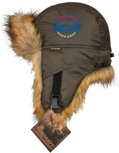 Шапка-ушанка NordKapp Malselv Frozen World Fox khaki арт.545